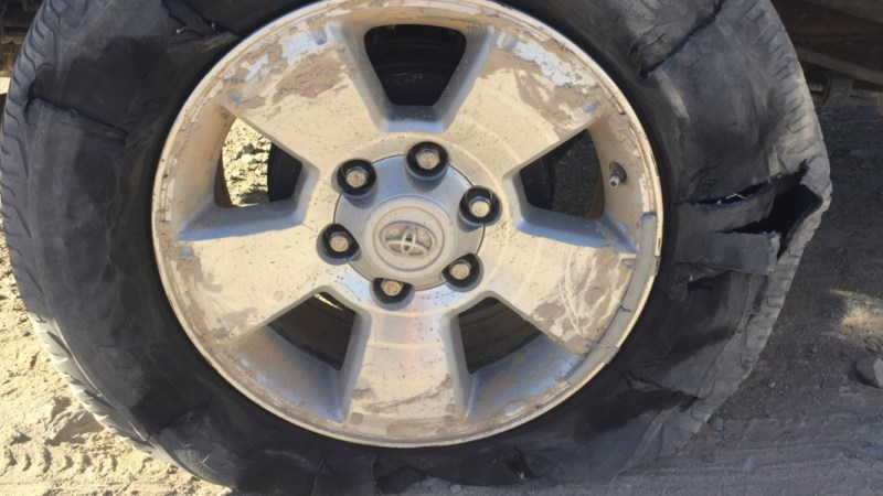 And My Front Tire Busted – Story of My Lagos Hustle