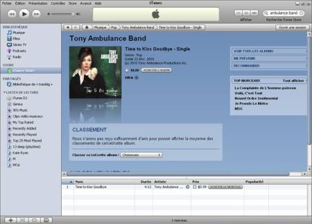 TTKG sur iTunes