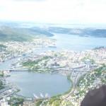 Ulriken - Vue sur Bergen