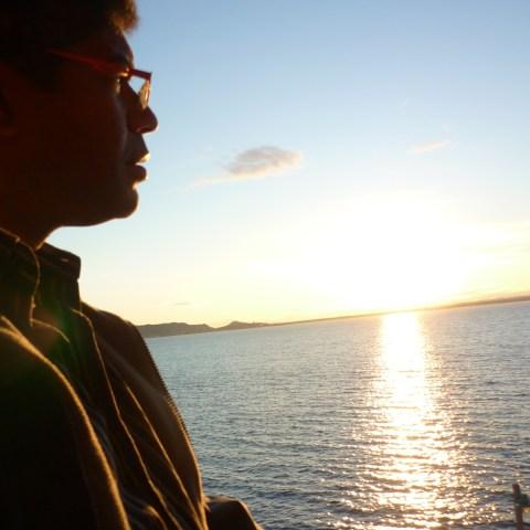 Autoportrait dans la lumière de Sept-Îles