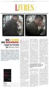 Bizango in Le Devoir