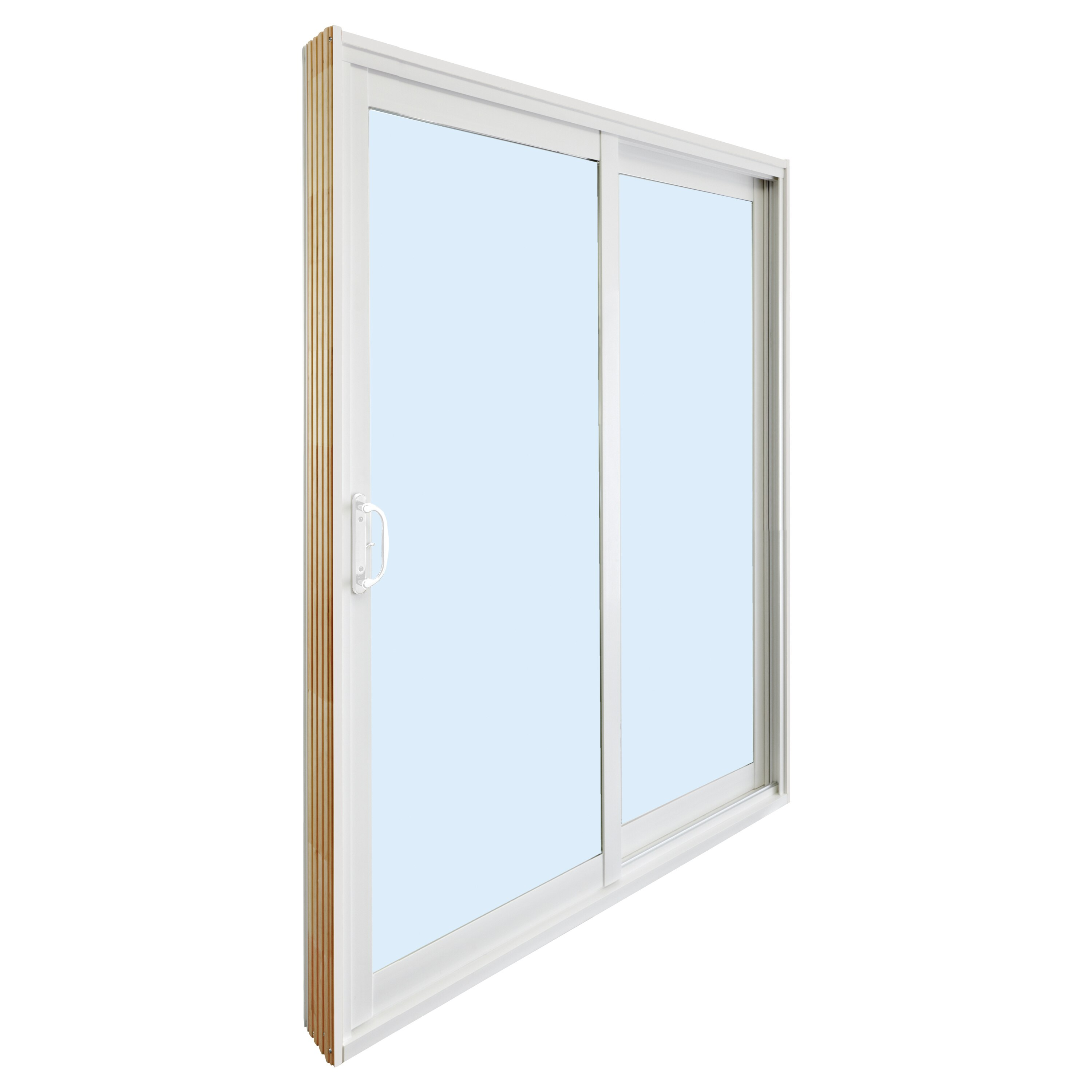 double sliding patio door with low e glass