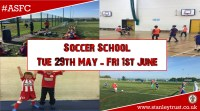 Soccer school is nearly here, Book on now!