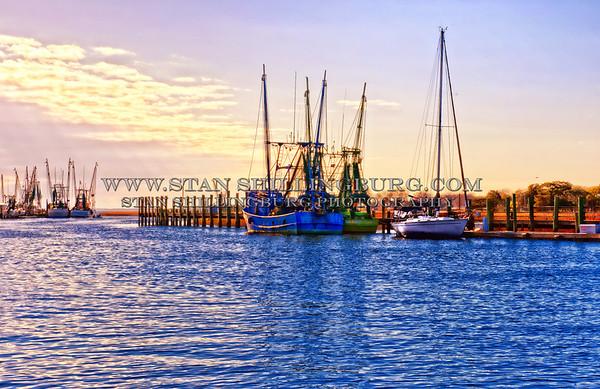 Shrimp Boats of the Carolinas
