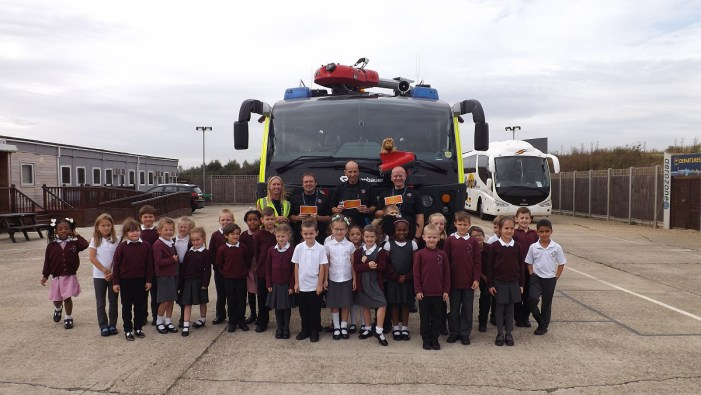 Fire Fighters receive awards for Aerozone support