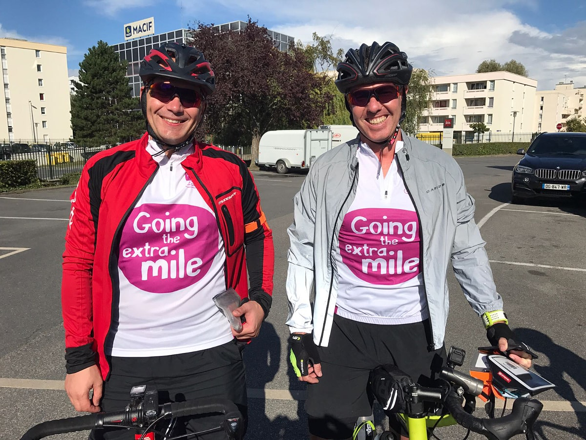 London to Paris CLIC Sargent bike ride
