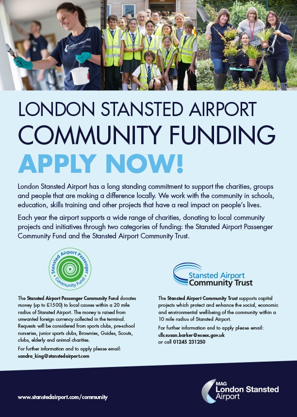Stansted Community Funds