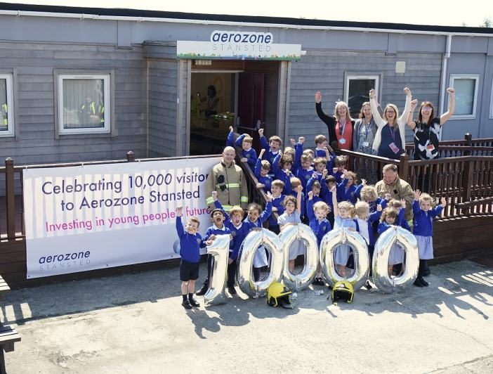 London Stansted's flagship education centre welcomes 10,000th visitor