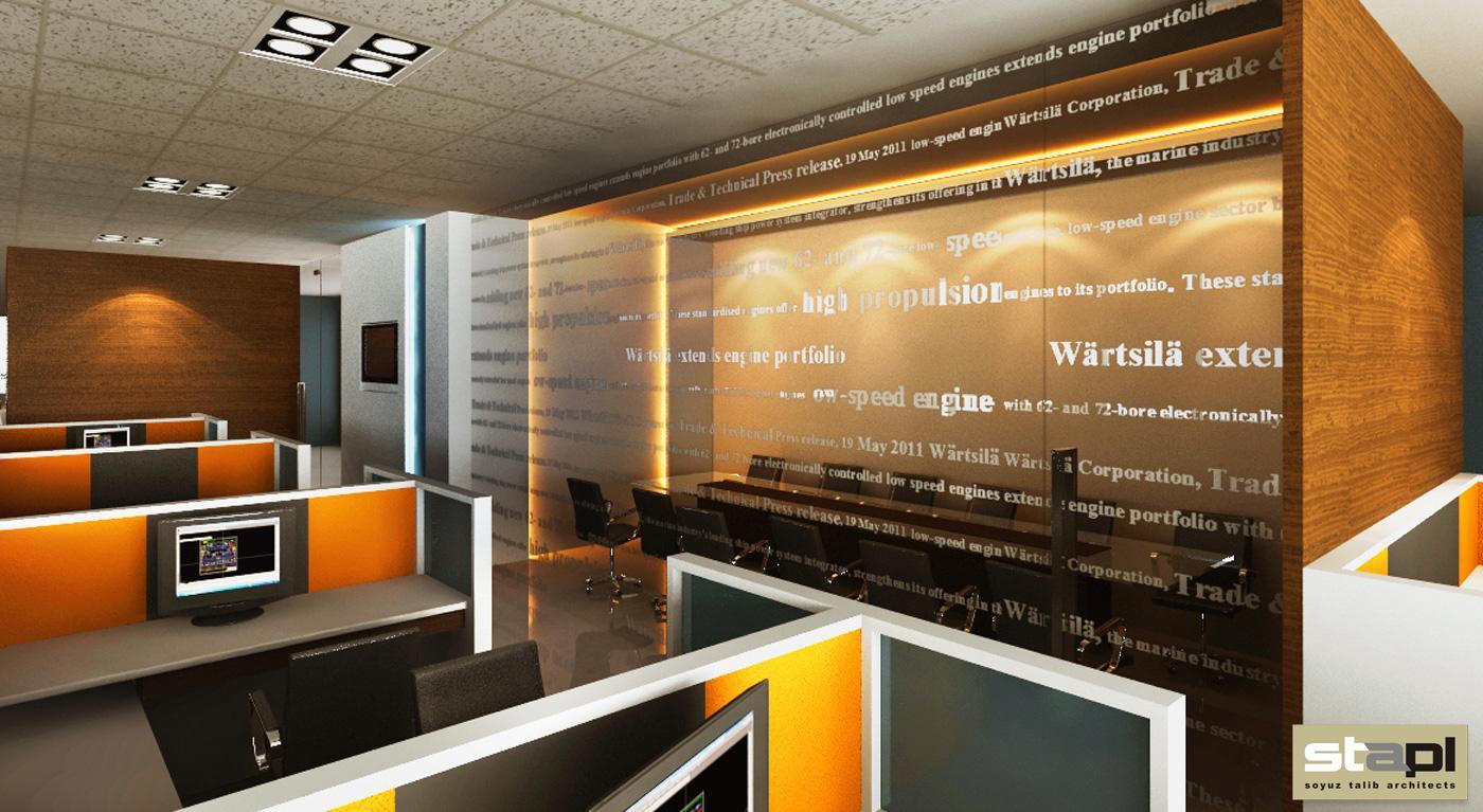 Corporate Office For Mnc Soyuz Talib Architects