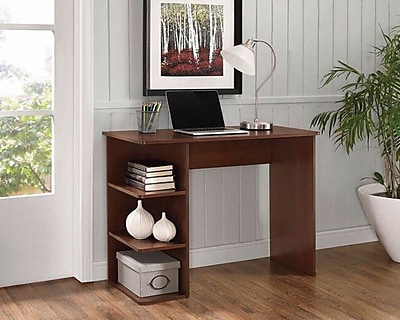 Easy2Go Student Desk with bookcases   Staples https   www staples 3p com s7 is