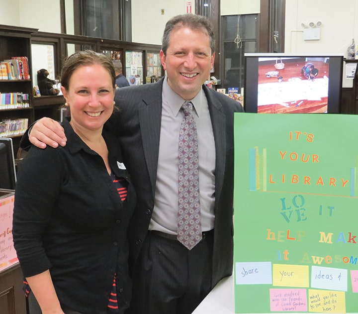 Friends of Carroll Gardens Library hold an open house, by George ...