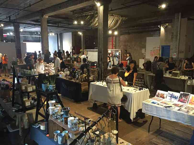 The F.a.d. marketplace pops up every other weekend at 51 Bergen St. (photo by Bondy)