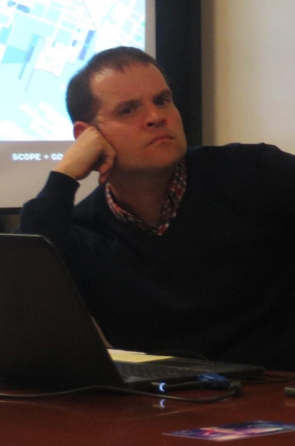 David Meade, former Executive Director at SBIDC.