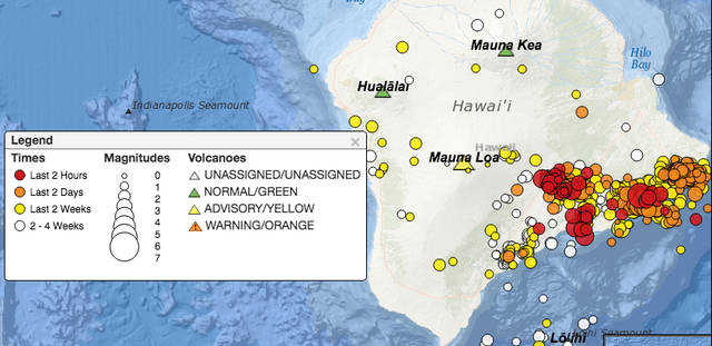 Geological survey said the … Hawaii's largest quake since 1975 knocks out power, causes ...