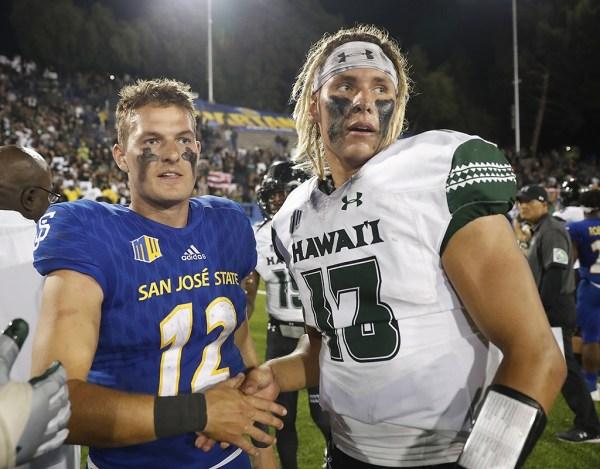 Photos from University of Hawaii vs. San Jose State game