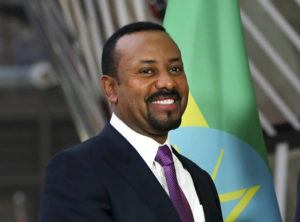 ASSOCIATED PRESS / Jan. 24                                 Ethiopian Prime Minister Abiy Ahmed, shown here at the European Council headquarters in Brussels in January, was awarded the 2019 Nobel Peace Prize today.