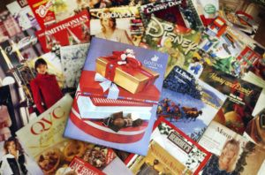 ASSOCIATED PRESS FILE                                 Industry experts say that all those catalogs crammed into mailboxes this holiday season are a sign that mailings have stabilized — and may be growing — after a decline of about 40% since the Great Recession.