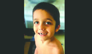 COURTESY HAWAII POLICE DEPARTMENT                                 Benjamin Rapoza, 6, has been missing since Friday.