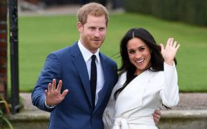 "EDDIE MULHOLLAND/POOL VIA ASSOCIATED PRESS                                 Engaged couple Britain's Prince Harry, left, and Meghan Markle posed for the media, in Nov. 2017, at Kensington Palace in London. Prince Harry and his wife, Meghan, said they are planning ""to step back"" as senior members of the royal family and ""work to become financially independent."""