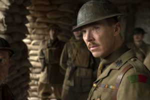 "COURTESY UNIVERSAL PICTURES                                 Benedict Cumberbatch as Colonel Mackenzie in a scene from ""1917,"" directed by Sam Mendes."