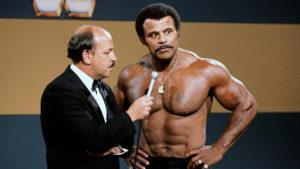 "WWE, INC. VIA ASSOCIATED PRESS                                 ""Mean"" Gene Okerlund interviews Rocky ""Soul Man"" Johnson. Johnson, a WWE Hall of Fame wrestler who became better known as the father of actor Dwayne ""The Rock"" Johnson, died today. He was 75."