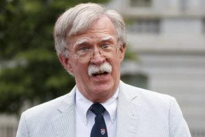 ASSOCIATED PRESS                                 Then-National security adviser John Bolton spoke to media, in July 2019, at the White House in Washington. Bolton said he's 'prepared to testify' in Senate impeachment trial if subpoenaed.