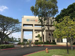 COURTESY WILCOX MEDICAL CENTER Husband and wife Peter Stengaard and Jennifer Gross donated $2.75 million to the Wilcox Medical Center in Lihue, one of three hospitals on Kauai.