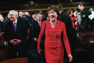 REUTERS / LEAH MILLIS / POOL                                 The Society of Young Women Scientists and Engineers LLC, which was registered to do business in Hawaii on Nov. 26, donated $150,000 to a super PAC that is backing Maine Republican U.S. Sen. Susan Collins, The Daily Beast reported on Monday.