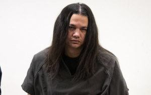 CRAIG T. KOJIMA / CKOJIMA@STARADVERTISER.COM                                 Bernard DeCoito Jr. was arraigned, today, after an Oahu grand jury indicted him with manslaughter and firearm charges in the death of 30-year-old Malia Soma-Valmoja.