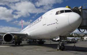 STAR-ADVERTISER / JAN. 2019                                 Hawaiian Airlines said today it will temporarily suspend its five-times-weekly nonstop service between Honolulu and Seoul because of the coronavirus outbreak.