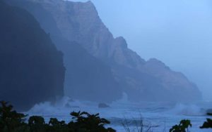 COURTESY DEPARTMENT OF LAND AND NATURAL RESOURCES                                 A view of the Napali Coast.