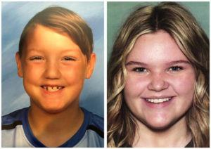 NATIONAL CENTER FOR MISSING & EXPLOITED CHILDREN VIA ASSOCIATED PRESS                                 Joshua Vallow, left, and Tylee Ryan. U.S. authorities are asking Yellowstone National Park tourists to review their vacation photos to see if they can spot any clues about the two missing children whose mother has been brought back to Idaho to face charges.