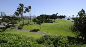 BRUCE ASATO / JAN. 2014                                 City officials plan to announce that a drive-through coronavirus testing site is being established in the parking lot of Kakaako Waterfront Park.