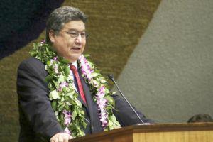 STAR-ADVERTISER / 2019                                 Hawaii Senate President Ron Kouchi