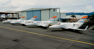 COURTESY PETERS COMMUNICATIONS                                 The new Wing Spirit fleet.