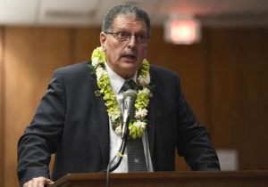 BRUCE ASATO / Jan. 15                                 Maui Mayor Mike Victorino announced the county's first death from the coronavirus today.