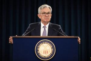 ASSOCIATED PRESS                                 Federal Reserve Chair Jerome Powell pauses during a news conference in Washington in January. The Federal Reserve is taking additional steps to provide up to $2.3 trillion in loans to suport American households and businesses as well as local governments as they deal with the coronavirus.