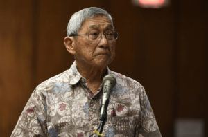STAR-ADVERTISER / JAN. 15                                 Big Island Mayor Harry Kim ordered a shutdown of vacation rental properties, bed and breakfasts, and time shares through April 30.