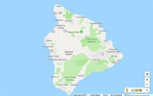 GOOGLE MAPS There are no active COVID-19 cases on the Big Island, Hawaii County Civil Defense Agency said today.