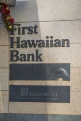 STAR-ADVERTISER PHOTO                                 First Hawaiian Bank said today that seven branches statewide that were temporarily closed during the shelter-in-place mandate will reopen Monday.
