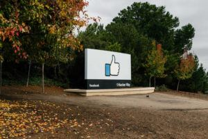 NEW YORK TIMES / DECEMBER 5, 2019                                 The entrance to the Facebook campus in Menlo Park, Calif.