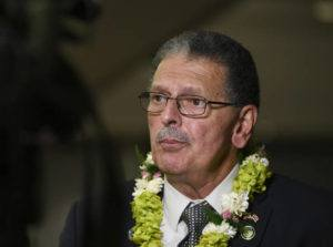 STAR-ADVERTISER / JAN. 15                                 Maui Mayor Mike Victorino.