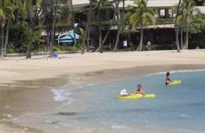 JAMM AQUINO / JAQUINO@STARADVERTISER.COM                                 In public comments, many said Hawaii's young keiki deserved access to parks and beaches to get exercise outdoors, which would be unrealistic and unsafe if not accompanied by adults. Some said kupuna, likewise, would be safer if accompanied while walking parks and beaches.