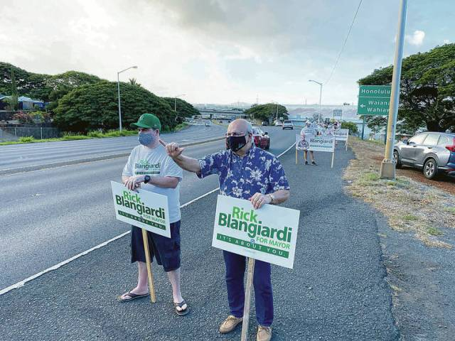Hawaii Poll shows commanding lead for Rick Blangiardi in mayor's race
