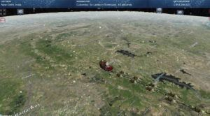 NORAD VIA ASSOCIATED PRESS                                 The Santa Tracker, seen today. This is the 65th year for the U.S.-Canadian operation that has tracked the jolly old man since a child mistakenly called the base asking to speak to Santa.