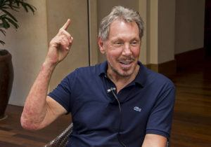 STAR-ADVERTISER / AUG. 5, 2017                                 Oracle Corp. co-founder Larry Ellison, seen here during an interview at his Four Season Resort Lanai, said today that he has moved his primary residence to Hawaii.