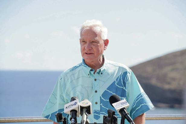 Mayor Kirk Caldwell says coronavirus response was too slow