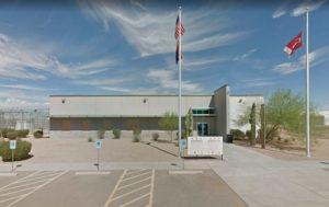 GOOGLE MAPS                                 A Google map screenshot of the Saguaro Correctional Center in Arizona.