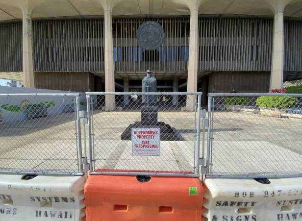Security heightened at state Capitol ahead of Friday protest and presidential inauguration next week