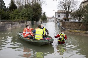 Flooding hits some French towns as water recedes elsewhere
